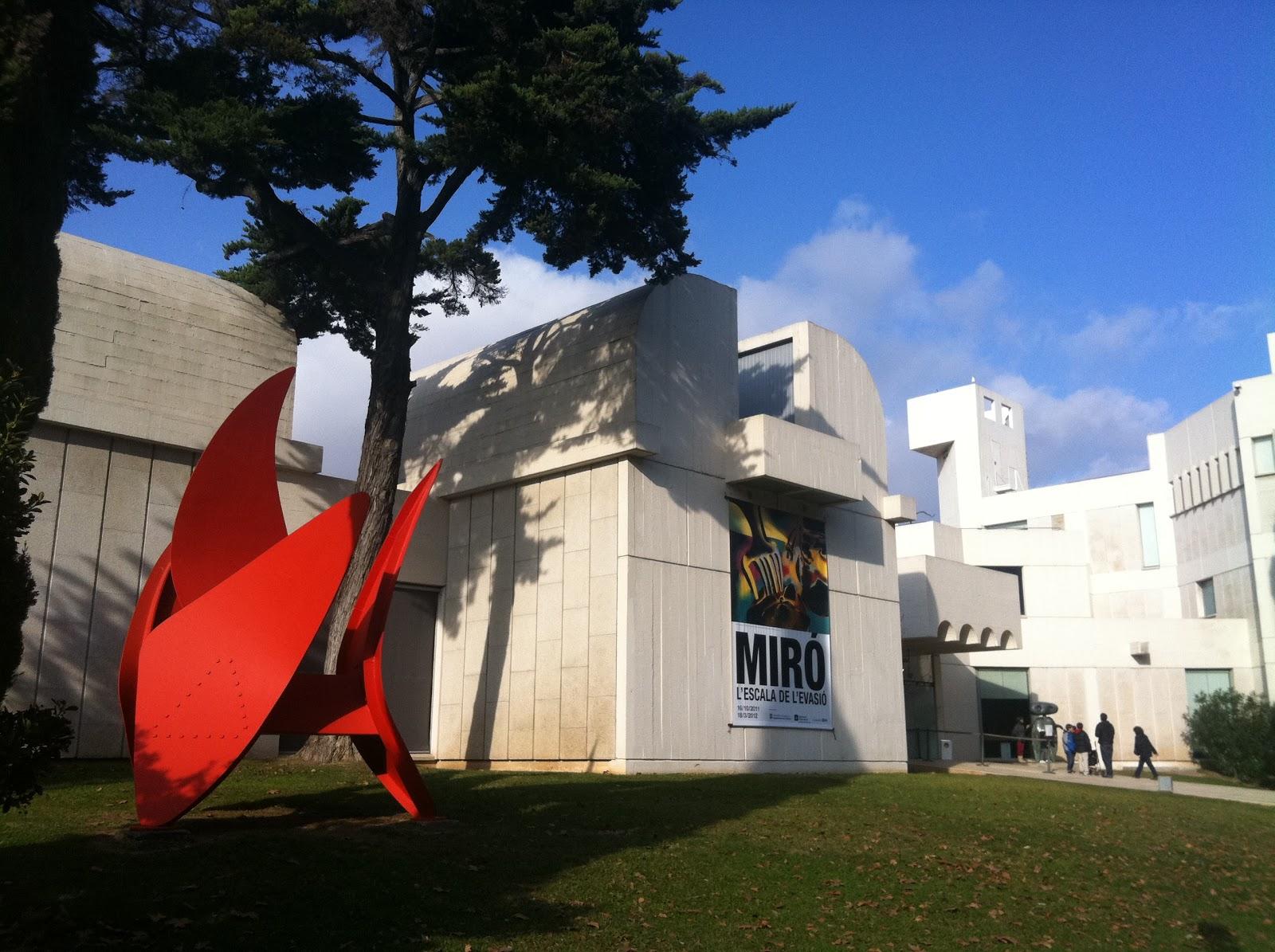 Barcelona's Fundació Joan Miró Tour