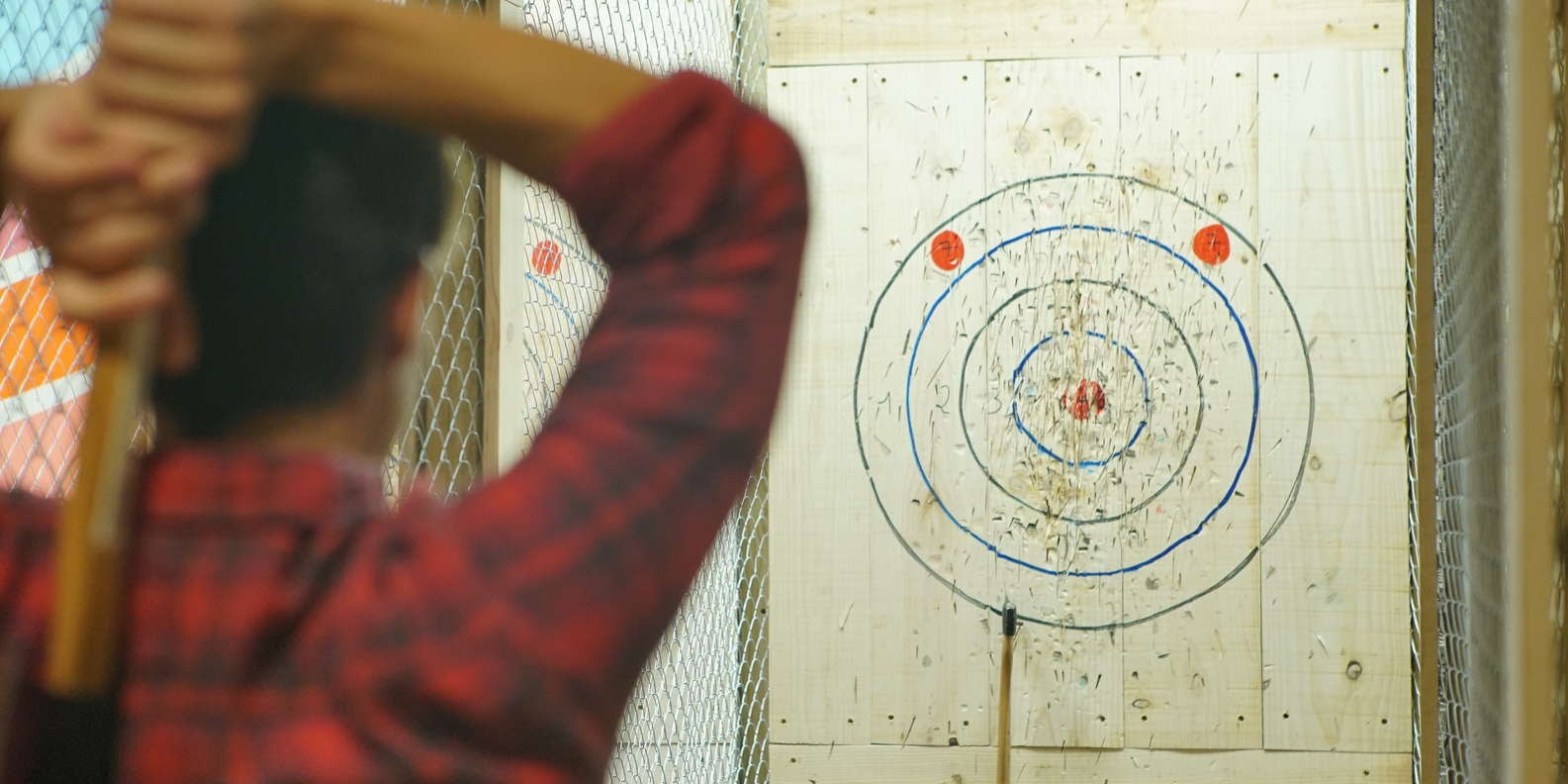 Axe Throwing Challenge in Madrid