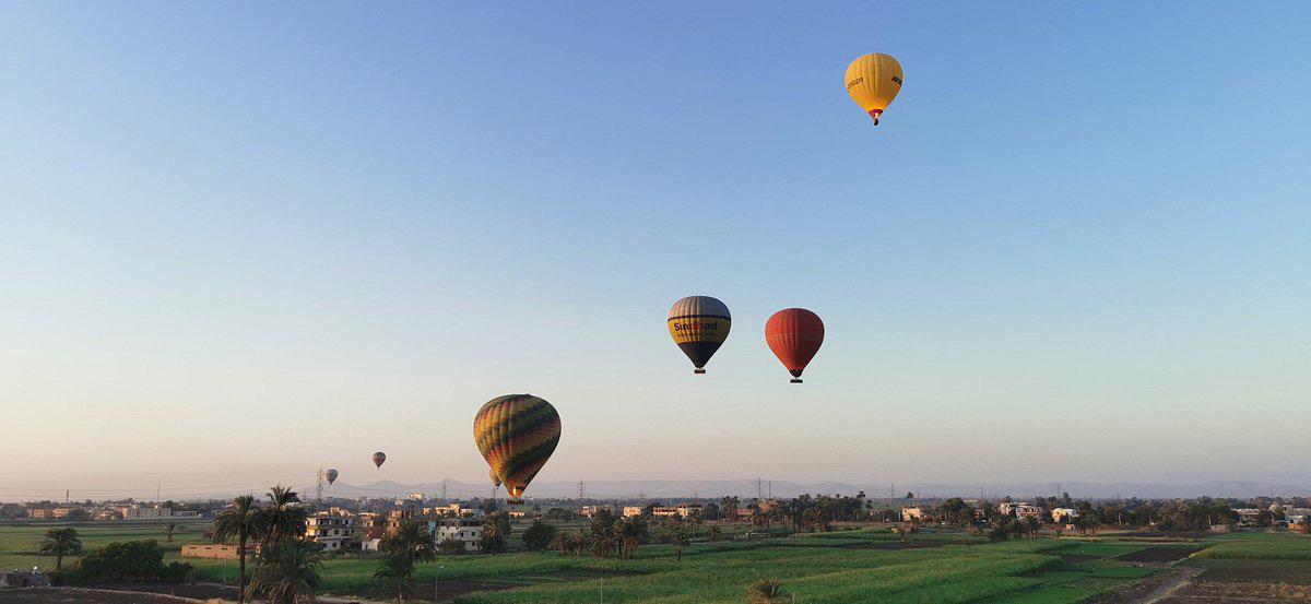 Luxor's West Bank Hot Air Balloon Flight